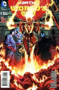 Earth 2: World's End #8, NM- (Stock photo)
