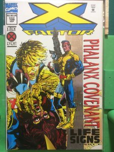 X-Factor #106 Phalanx Covenant Life Signs part 1