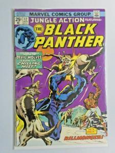 Jungle Action #12 Black Panther 4.0 VG (1974)