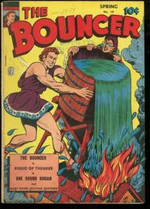 BOUNCER, THE #14-FOX PUBS-1945-ROCKET KELLY-WWII VG/FN