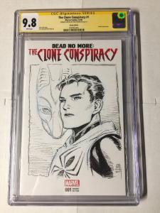 Spider-man Dead No More The Clone Conspiracy 1 Cgc 9.8 Blank Variant Jim Cheung