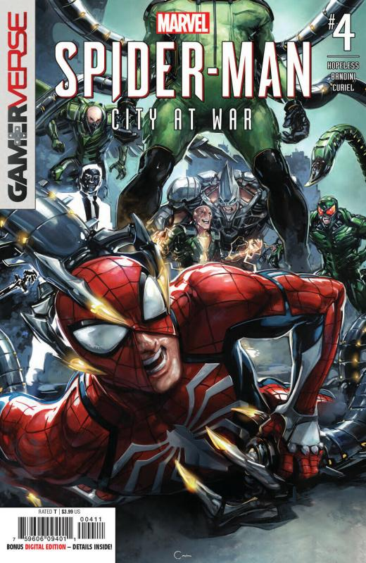 Spider-Man City At War #4 (Marvel, 2019) NM