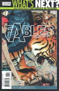 Fables Special Edition #1, NM- (Stock photo)