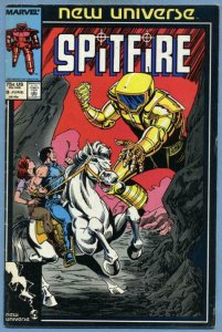 SPITFIRE #9, VF/ NM, New Universe, Troubleshooters, Marvel, 1986 1987
