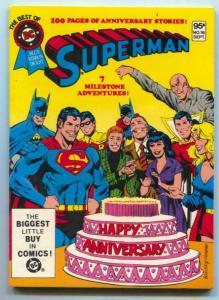 Best Of DC #16 1981- Origin of Superman FN/VF