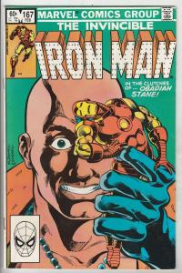 Iron Man #167 (Jan-82) VF/NM High-Grade Iron Man