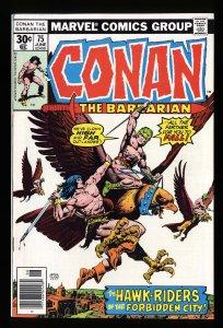 Conan The Barbarian #75 NM+ 9.6
