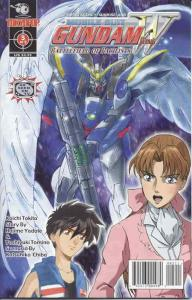 Mobile Suit Gundam Wing: Battlefield of Pacifists #5 VF; Tokyopop | save on ship