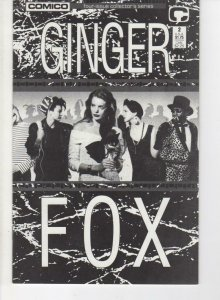 GINGER FOX #2, NM-, Pander Bros., Comico, 1988, more in store