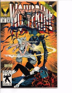 Marvel Comics Wolverine #52 Marc Silvestri NM Mystique Mojo