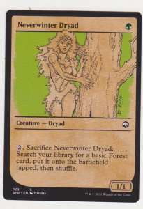 Magic the Gathering: Adventures in the Forgotten Realms- Neverwinter Dryad(Showc
