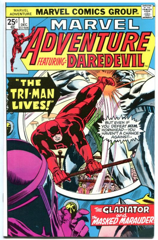 MARVEL ADVENTURE #1 2 3 4 5 6, VF, Daredevil, 6 iss, 1975, more Marvel in store