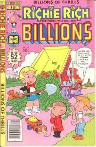 RICHIE RICH BILLIONS (1974-1982) 29 VF-NM April 1979 COMICS BOOK