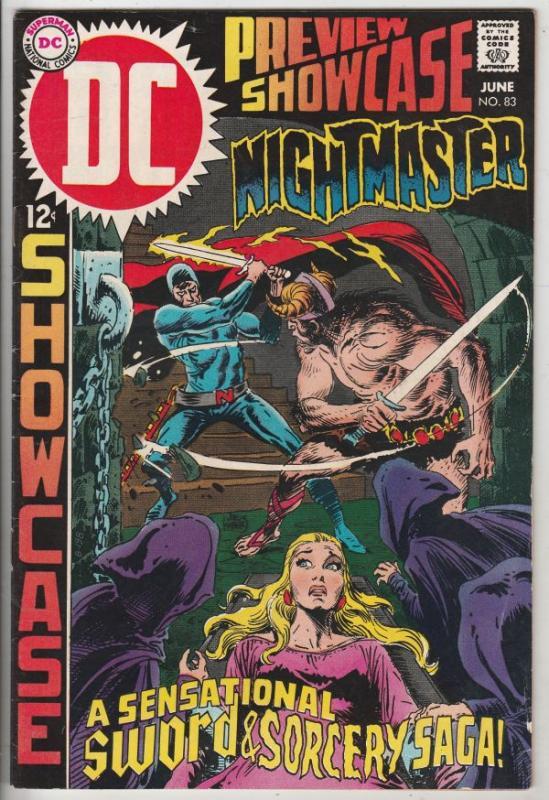 Showcase #83 (Jun-69) VF+ High-Grade Nightmaster
