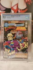 DC Comics Presents #28 (Dec 80) CGC 9.2 NM- Superman & Supergirl!
