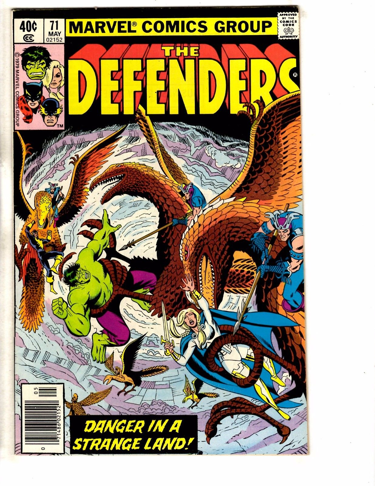 THE DEFENDERS # 72 BRONZE AGE ISSUE MARVEL COMICS HULK