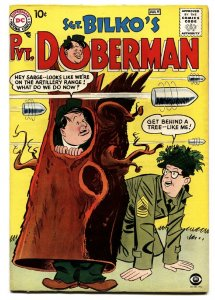 SGT BILKO'S PVT DOBERMAN #1 comic book 1958-DC-PHIL SILVERS-1ST ISSUE-TV SERIES