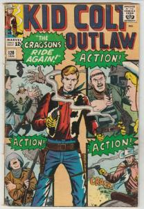 Kid Colt Outlaw #120 (Jan-65) VG/FN- Affordable-Grade Kid Colt