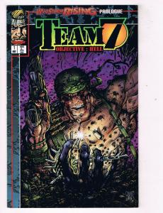Team 7 Objective Hell #1 FN/VF Image Comics Comic Book Dixon May 1995 DE40 AD14