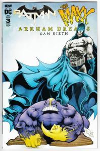 Batman The Maxx Arkham Dreams #3 Cvr B (IDW, 2018) NM