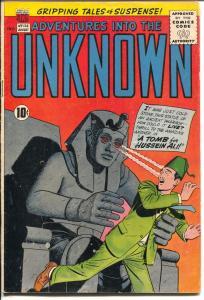 Adventures Into The Unknown #126 1961-ACG-Egypto;logy-Ogden Whitney-VG+