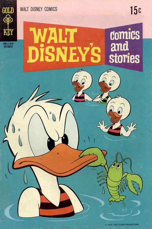 Walt Disney's Comics and Stories #361 VG; Dell | low grade comic - save on shipp