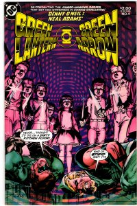 Green Lantern/Green Arrow #4 (1983) Dennis O'Neil Neal Adams Black Canary NM-