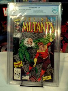 New Mutants #86 - CBCS 9.8 - 1st Appearance (Cameo) of Cable!