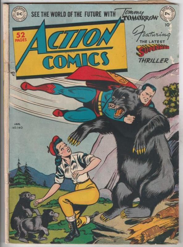 Action Comics #140 (Jan-50) VG+ Affordable-Grade Superman