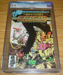 Crisis on Infinite Earths #2 CGC 9.4 marv wolfman - george perez - dc comics