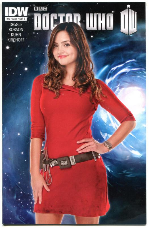 DOCTOR WHO #10, NM, Photo Variant, Volume 3, 2012, IDW, Time Lord, Tardis