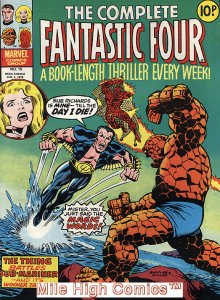 COMPLETE FANTASTIC FOUR (UK MAG) #15 Very Fine