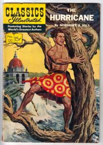 Classics Illustrated #120 (Jun-54) VG Affordable-Grade