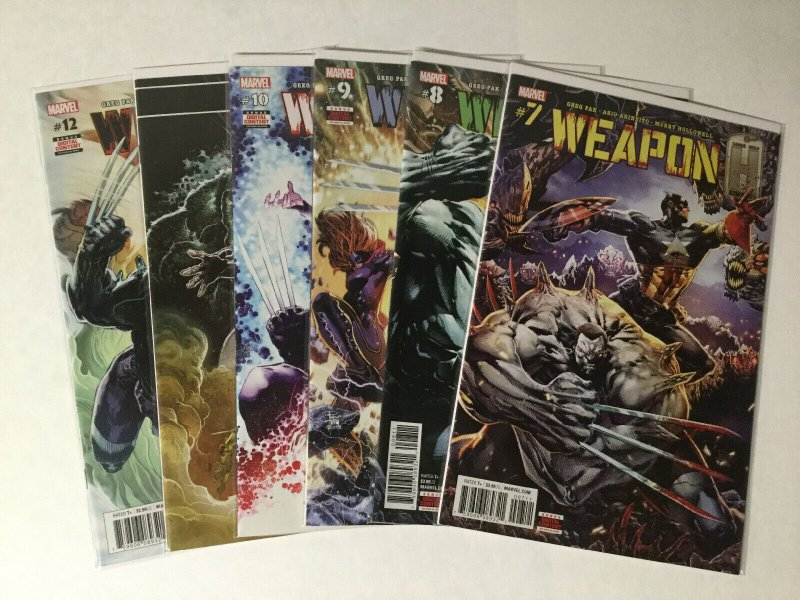 Weapon H 1-12 Weapons Of Mutant Destruction Prelude 1-5 Lot Near Mint Marvel