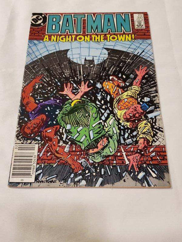 Batman 392 VF+ Cover art by Tom Mandrake