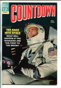 COUNTDOWN #12-150-710 1967-DELL-JAMES CAAN-FILM EDITION-BLACK COVER-nm minus