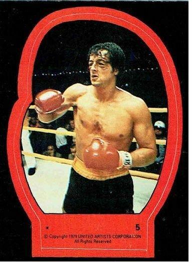 1979 Topps Rocky II Sticker #5 Rocky Balboa > Stallone > Italian Stallion
