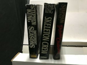 STEPHEN KING LOT of 3 HARDCOVER BOOKS FINE READING CONDITION 1st Eds SEASONS
