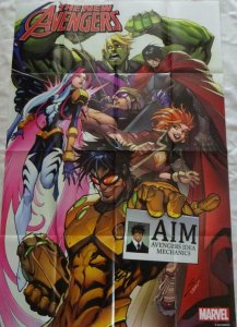 NEW AVENGERS Promo Poster, 24 x 36, 2015, MARVEL, Unused more in our store 185