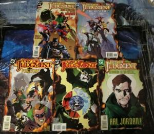 DAY OF JUDGMENT  (1999) 1-5 Hal Jordan is the Spectre