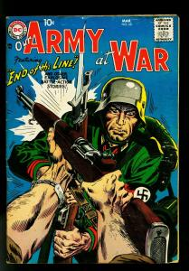 Our Army at War #68 1958- Russ Heath- Joe Kubert- Drucker- G+