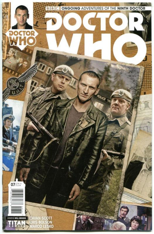DOCTOR WHO #7 B, NM, 9th, Tardis, 2016, Titan, 1st, more DW in store, Sci-fi