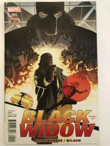 Black Widow (2016 Series) #5 Waid, Samnee, Wilson NM
