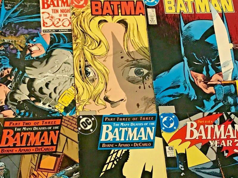 BATMAN#415-480 VF/NM LOT 1991 (36 BOOKS)  DC COMICS