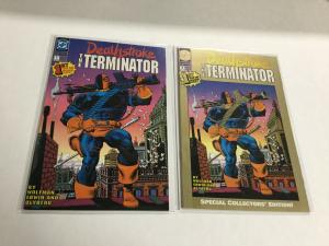 Deathstroke 1 And Special Collectors Edition Nm Near Mint DC Comics