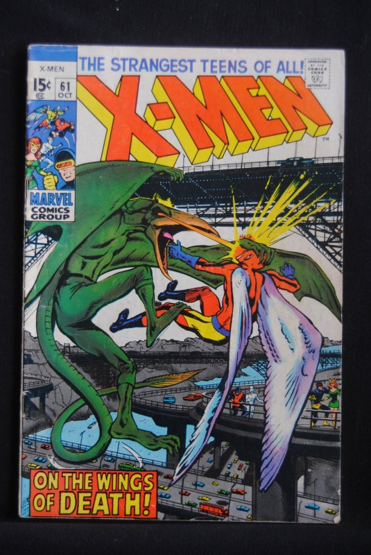X-Men 61, Neal Adams, Roy Thomas at there best.