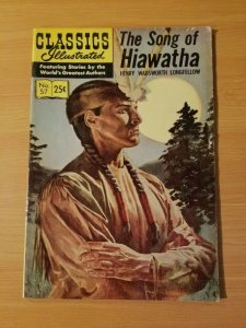 Classics Illustrated #57- The Song of Hiawatha ~ FINE FN ~  (1968) HRN 166