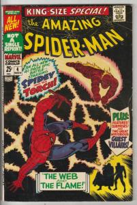 Amazing Spider-Man, King-Size Annual #4 (Nov-67) VF+ High-Grade Spider-Man