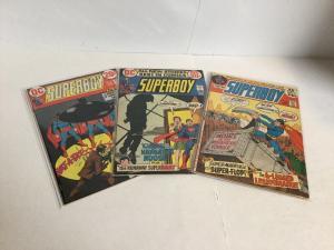 Superboy 181 189 193 Lot Fn+ Fine+ 6.5