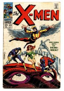X-MEN-#49-comic book-STERANKO COVER VG-